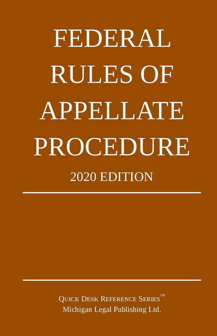 2020 Federal Rules of Appellate Procedure